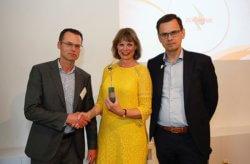 Gertrude vd Brink - winnaar zorgmanager van het jaar 2018 - zorgvisie en ibo qualified business school